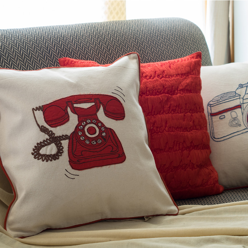 Retro cushion covers