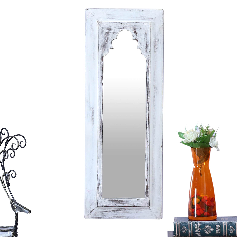 Minaret mirror white