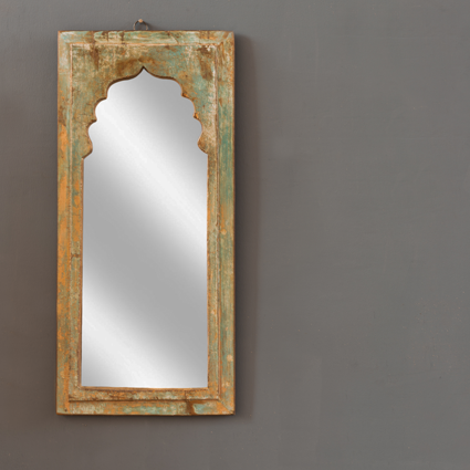Minaret wall mirror - old vintage frames assorted and Sturdy slipper-shaped hook