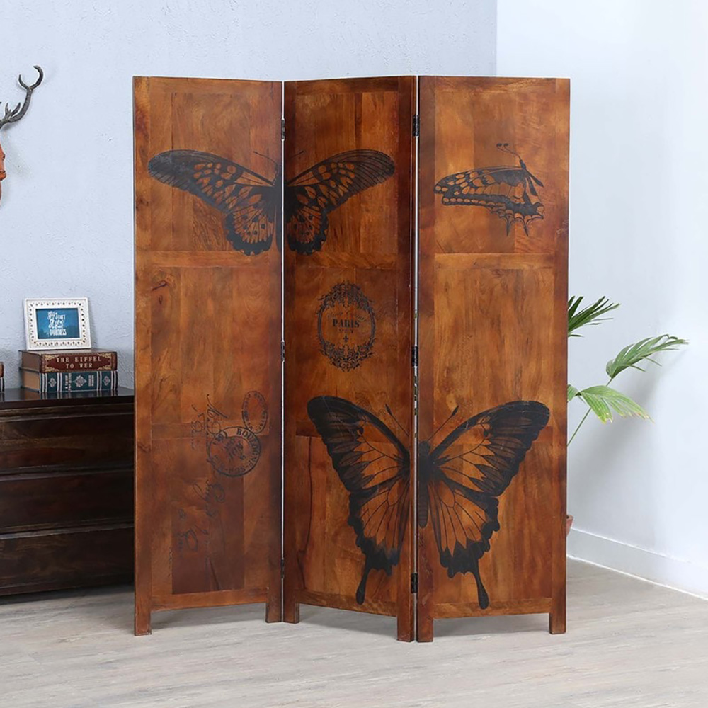 Butterfly Effect Wooden Room Divider